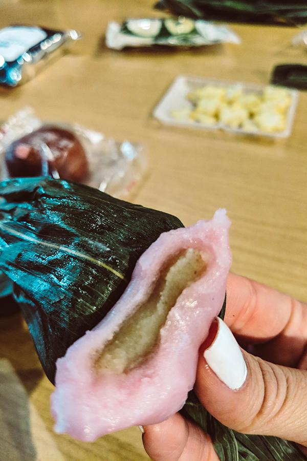 Harajuku Hidden Gems with Arigato Japan Food Tours - Niigata Antenna Shop - Sakura Sasadango.jpg