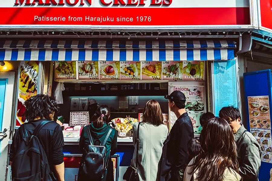 Harajuku Hidden Gems with Arigato Japan Food Tours - Takeshita Dori - Harajuku Crepe .jpg