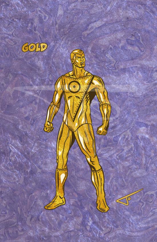 Gold Metal Men