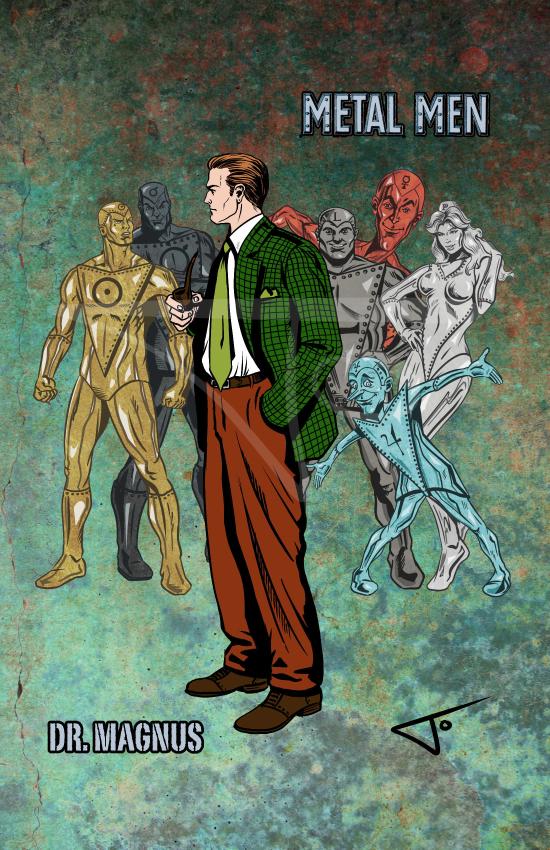 Dr. Magnus Metal Men