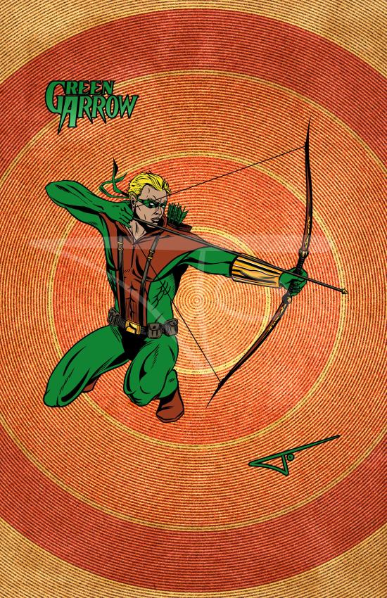 Green Arrow Connor Hawke