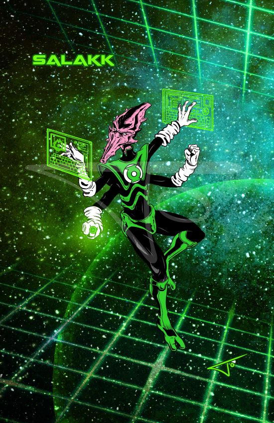 Green Lantern Salakk