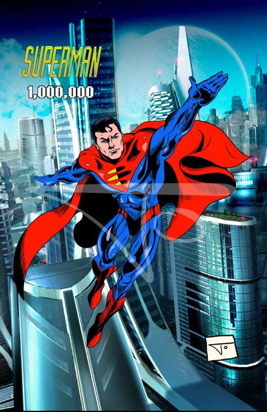 Superman DC One Million