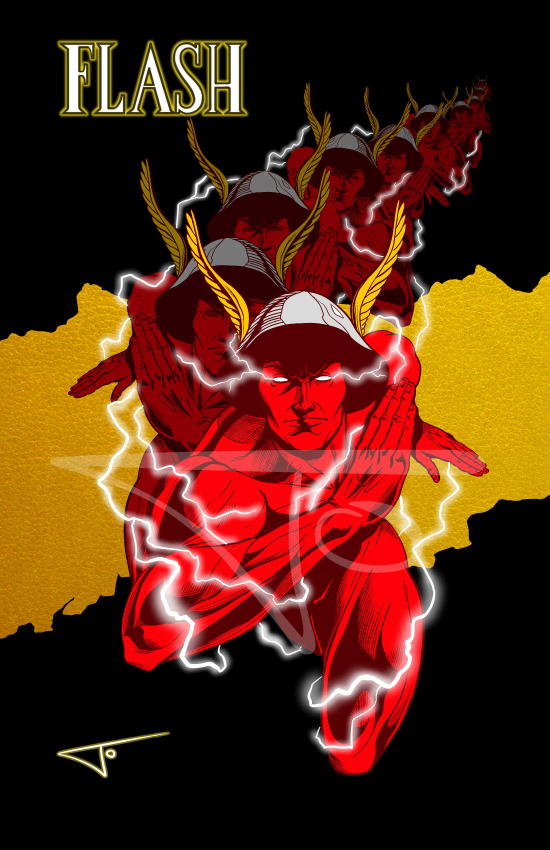 Flash Wally West Kingdom Come