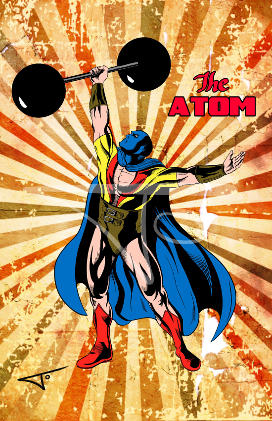 The Atom Justice Society of America