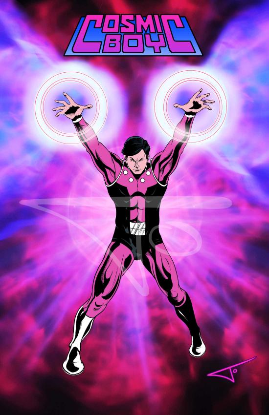 Cosmic Boy Legionnaire