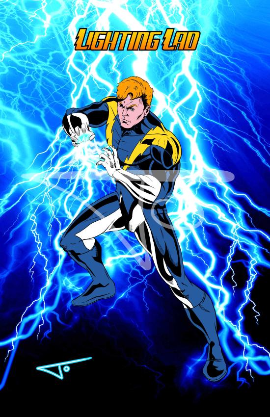Lightning Lad Legionnaire