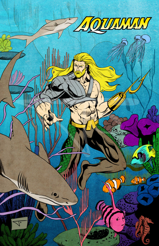 Aquaman with hook