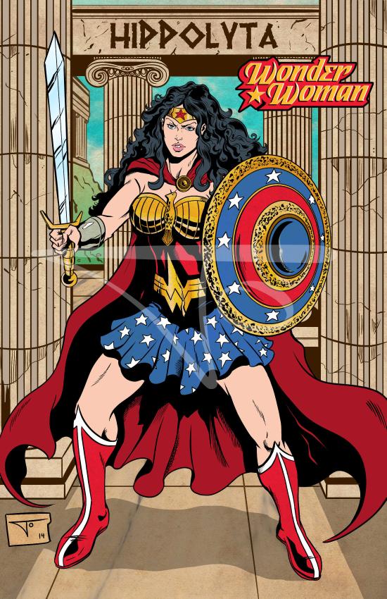 Wonder Woman Hippolyta