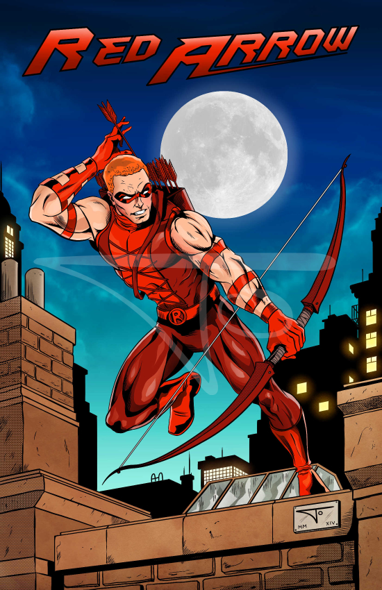 Red Arrow Roy Harper