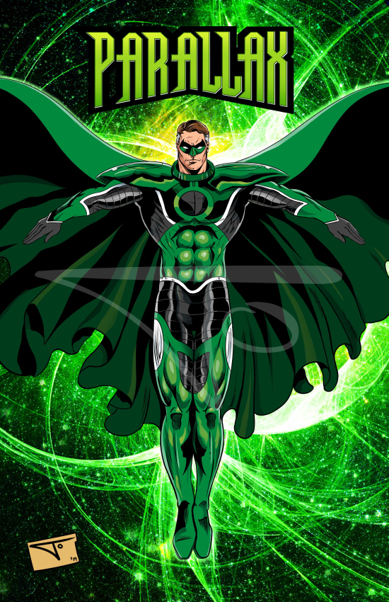 Parallax Hal Jordan
