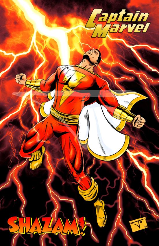 Captain Marvel Shazam