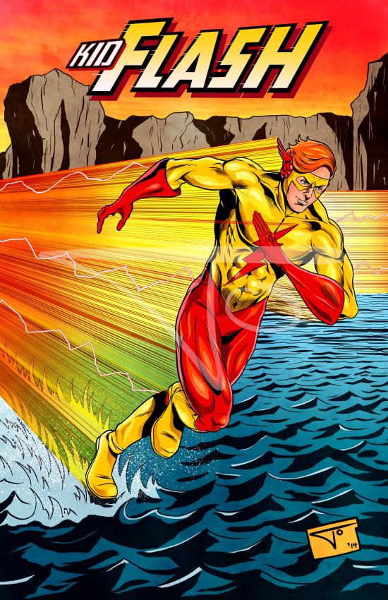 Kid Flash Wally West