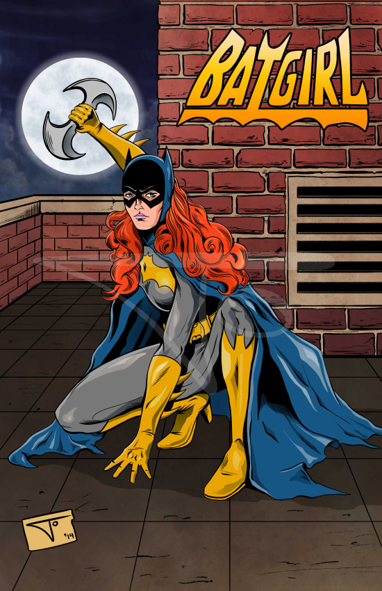 Batgirl Barbara Gordon