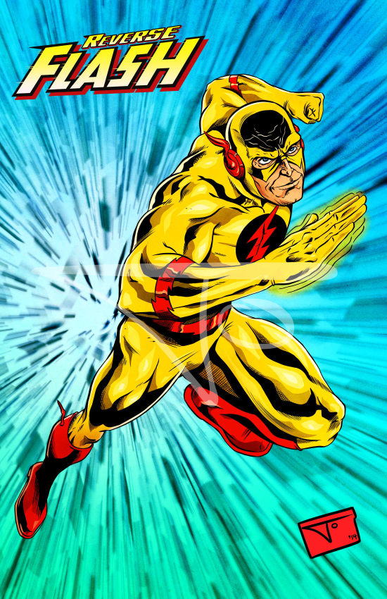 The Reverse Flash Professor Zoom