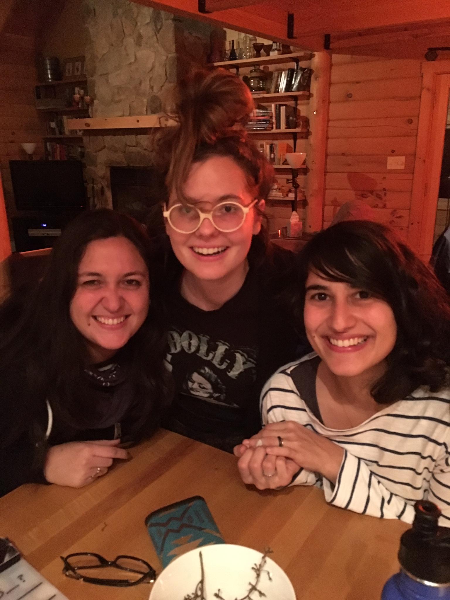 Gloria Muñoz, Maggie Robinson & Paola Messina