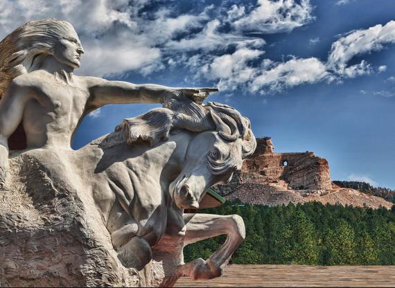 The Crazy Horse Memorial, Black Hills, South Dakota