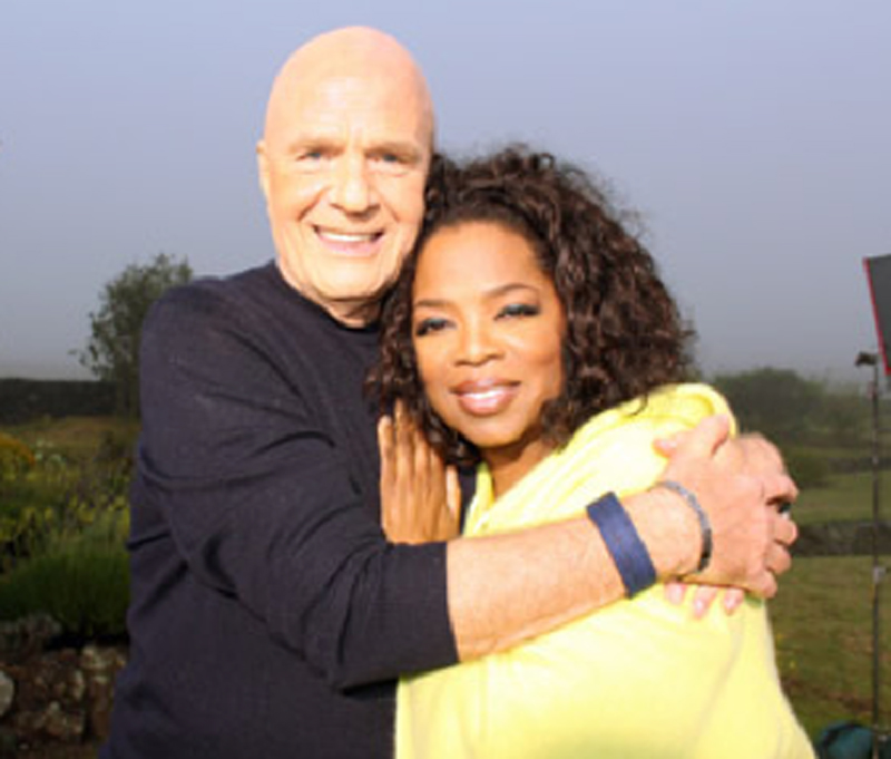 A personal friend of Oprah Winfrey, Dr. Dyer appeared on her show many times to discuss spiritual topics and overcoming life's challenges.