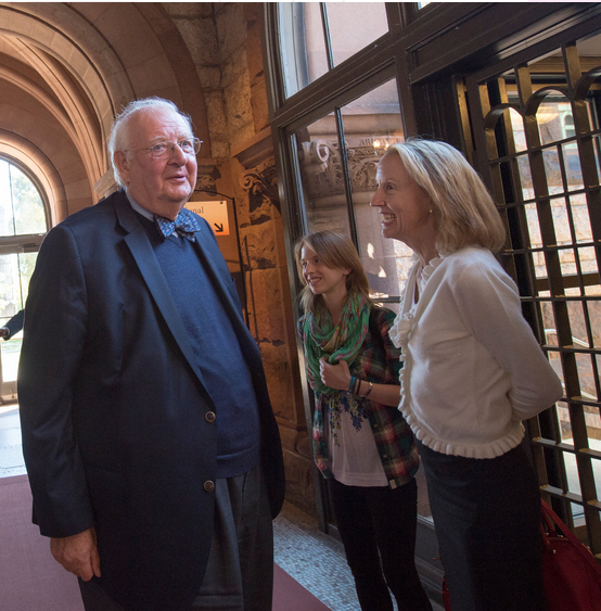 Angus Deaton with his wife, Anne Case, right, last month after he won the 2015 Nobel Memorial Prize in Economic Science. Together, they wrote a study analyzing mortality rates.   (Photo by Ben Solomon for The New York Times)