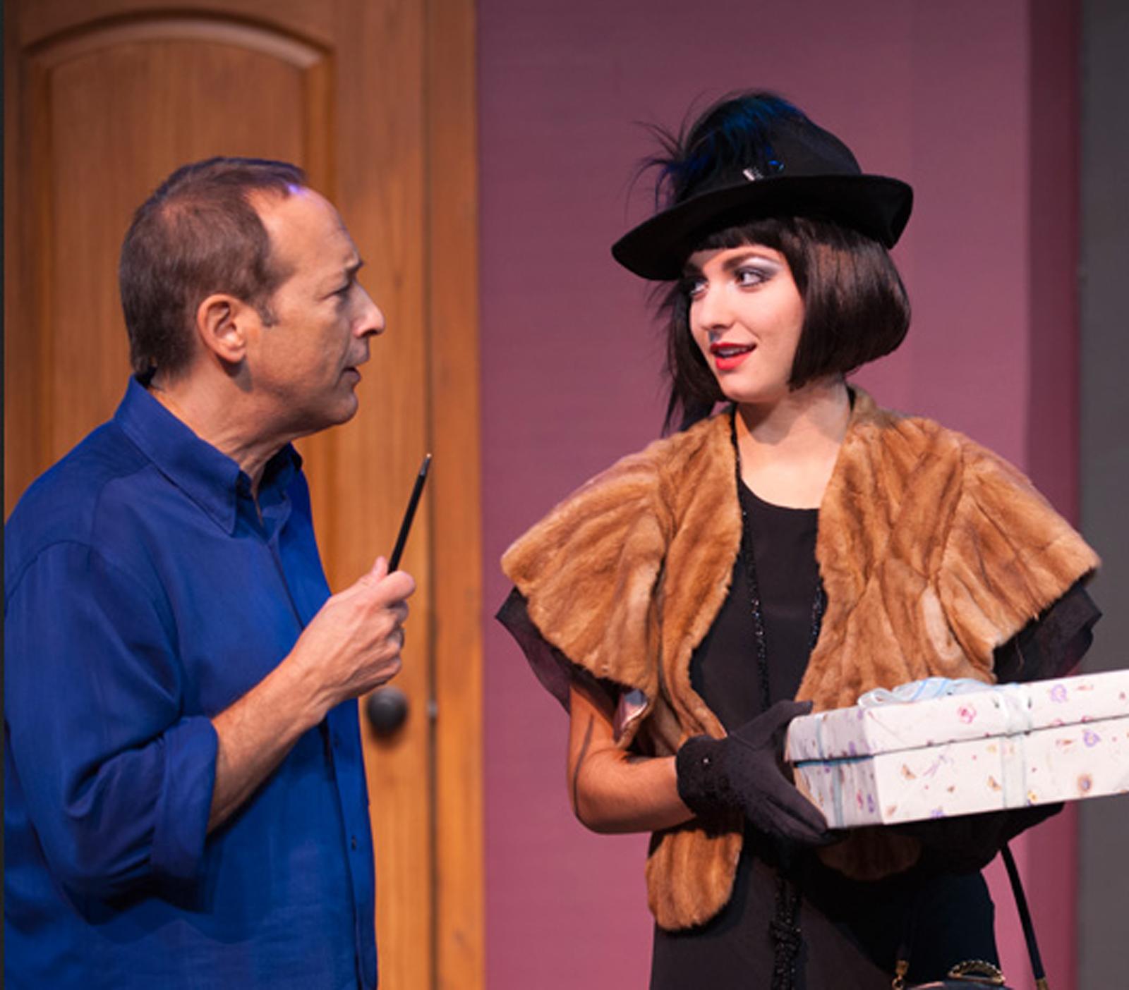 Director Jeff Passero with Lilli Passero, Malibu Playhouse