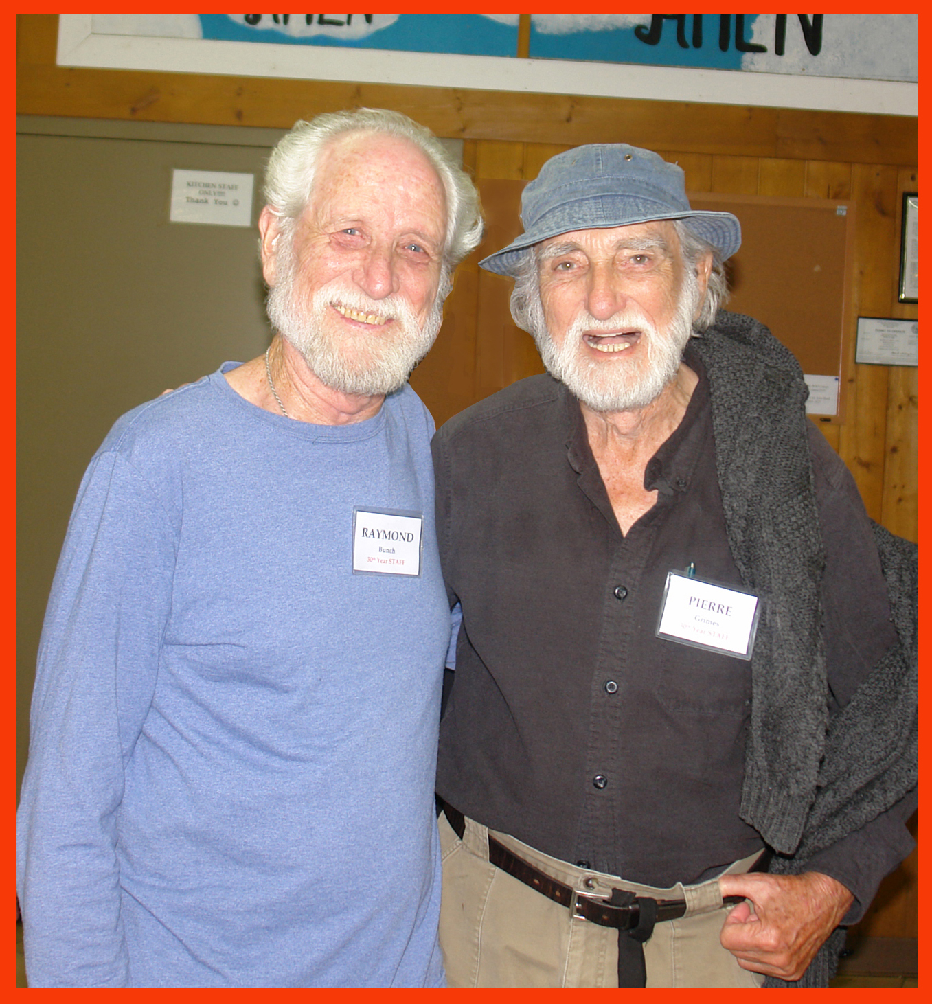 Sacred Path presenters Ray Bunch and Pierre Grimes