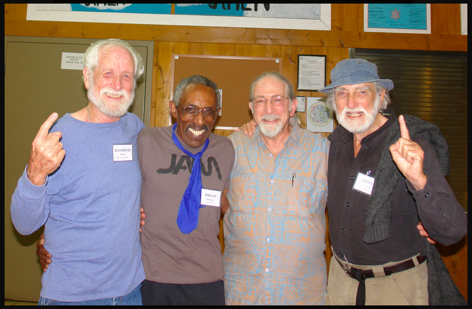 Ray Bunch, Phil Jennings, Dr. Bill Flaxman, Dr. Pierre Grimes