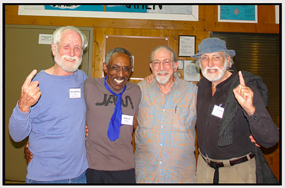 Ray Bunch, Phillip Jennings, Dr. Bill Flaxman and Dr. Pierre Grimes