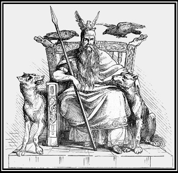 """""""Seek out evil, wherever it is seen. Speak out against it, and give your enemy no quarter."""" -- the HAVAMAL"""