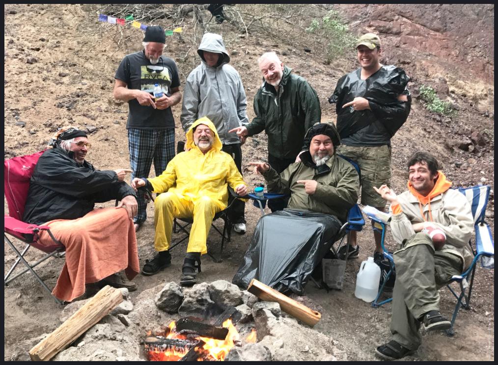 Sacred Path Flash Flood Survivors . . . Bringing Good Men Together