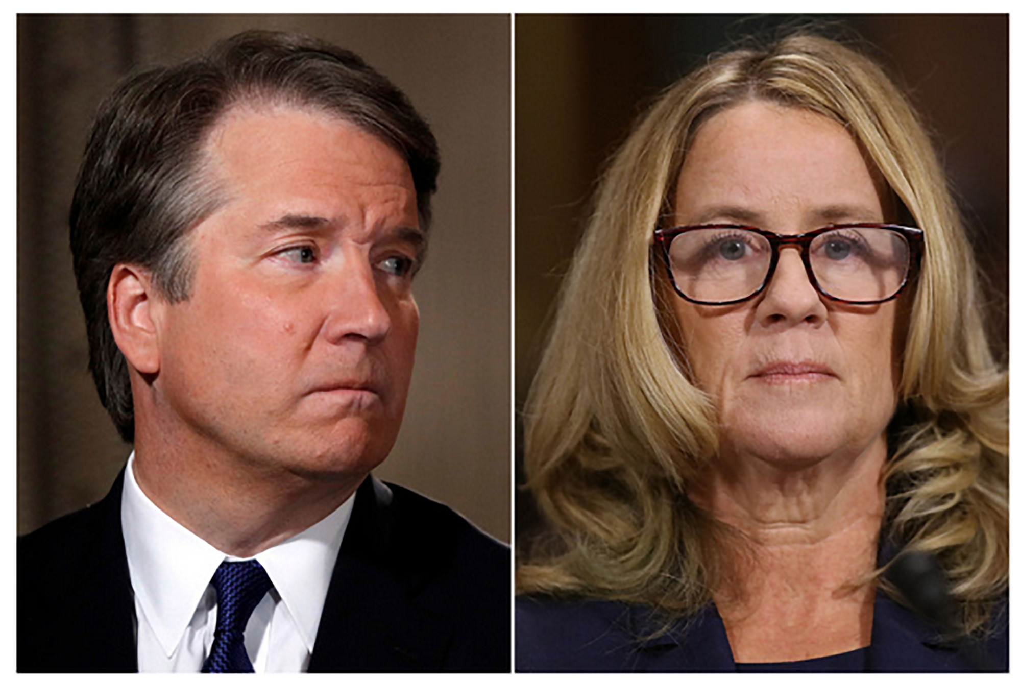 Brett Kavanaugh   and   Dr. Christine Blasey Ford