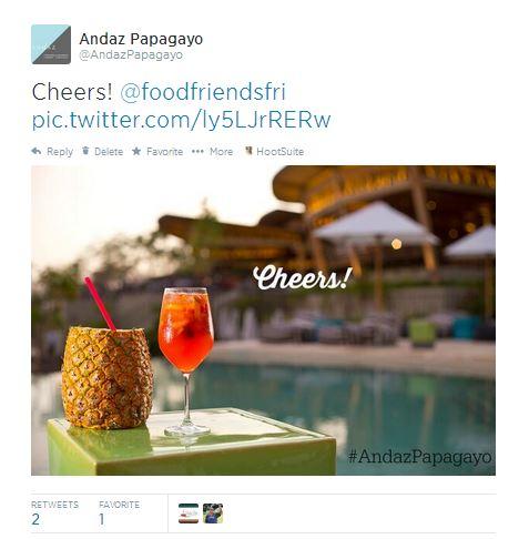 Food Photos on Twitter
