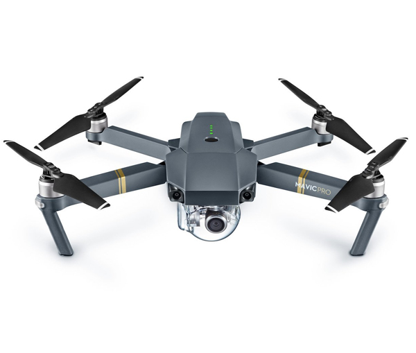 DJI Mavic Pro - A 4K drone that you can control with your phone, and it all folds down to fit in your backpack or purse.