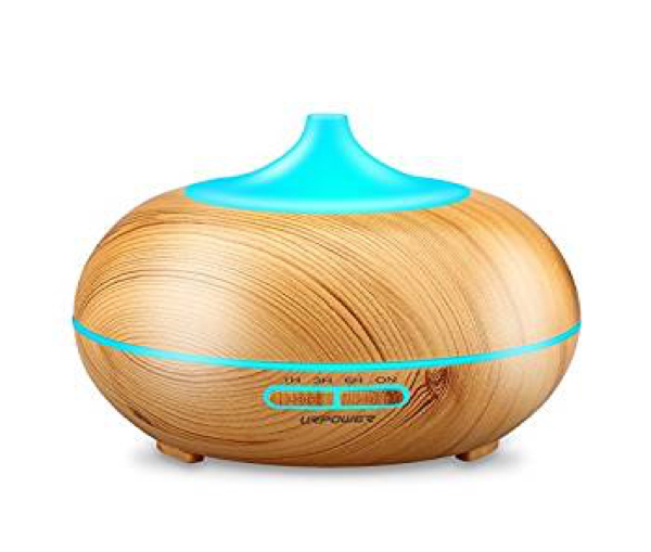 Essential Oil Diffuser - Get your relaxation on with an Essential Oils diffuser. We suggest lavender :)