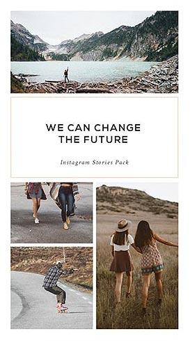 Creative Market - Instagram Stories Pack - Pande
