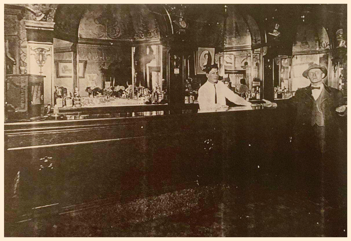 The Royal Buffet, sometime between 1900 - 1915. Grandpa Cal is on the right.
