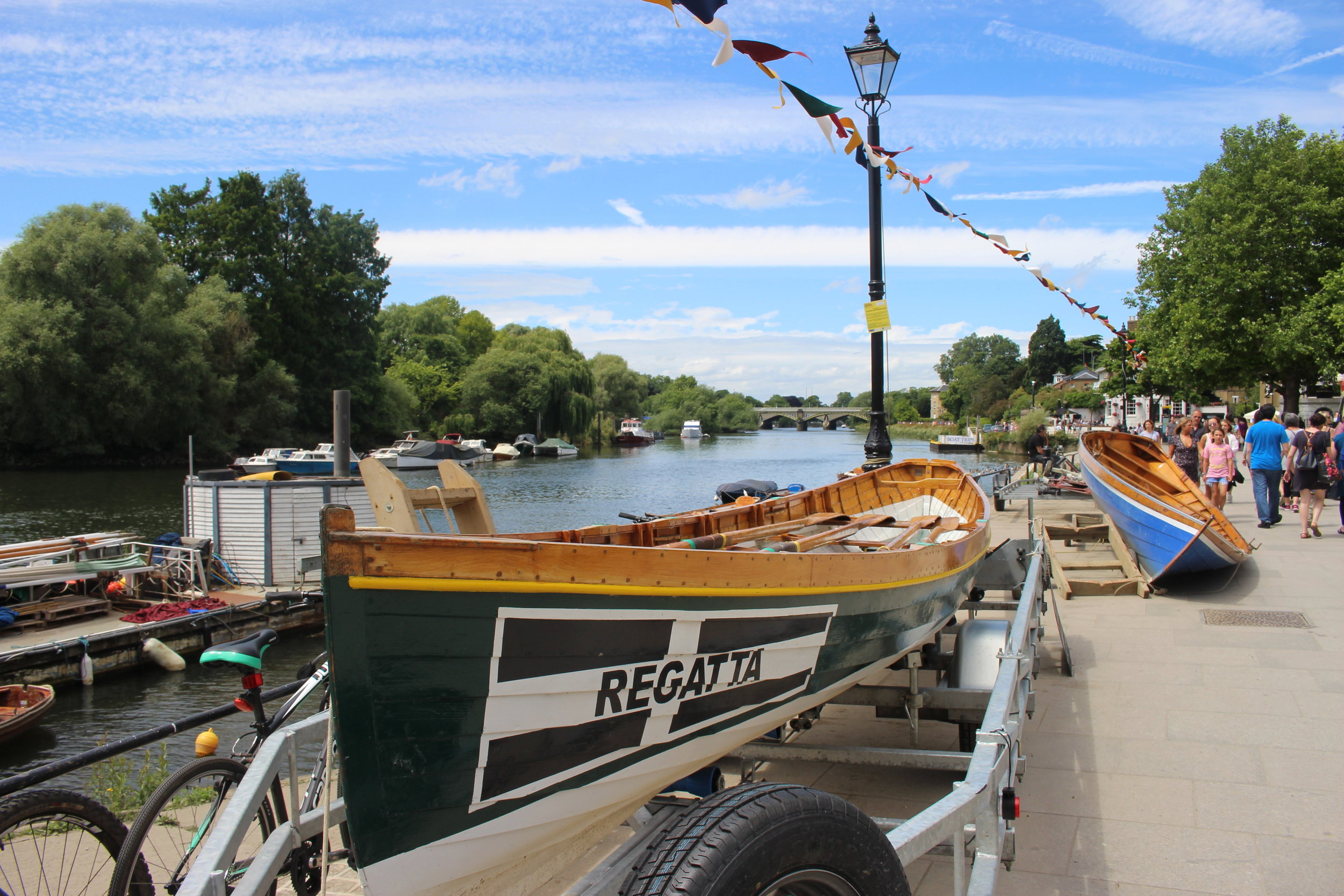 The River Thames along Richmond