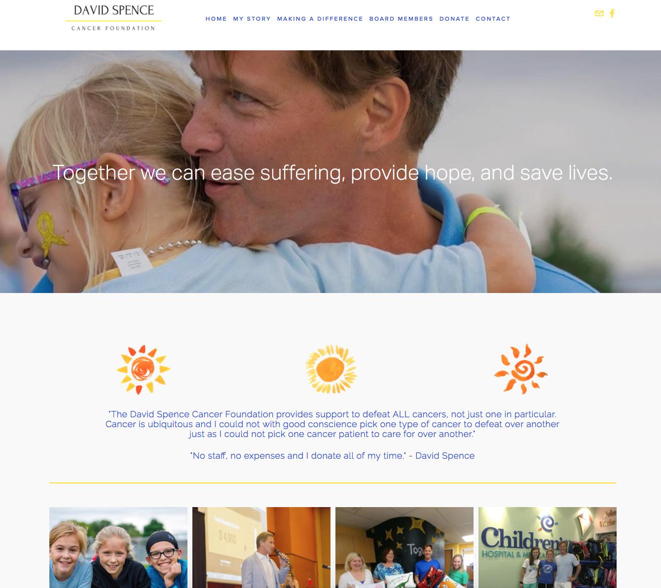 David Spence Cancer Foundation, BoastHouse and Dana Dyksterhuis