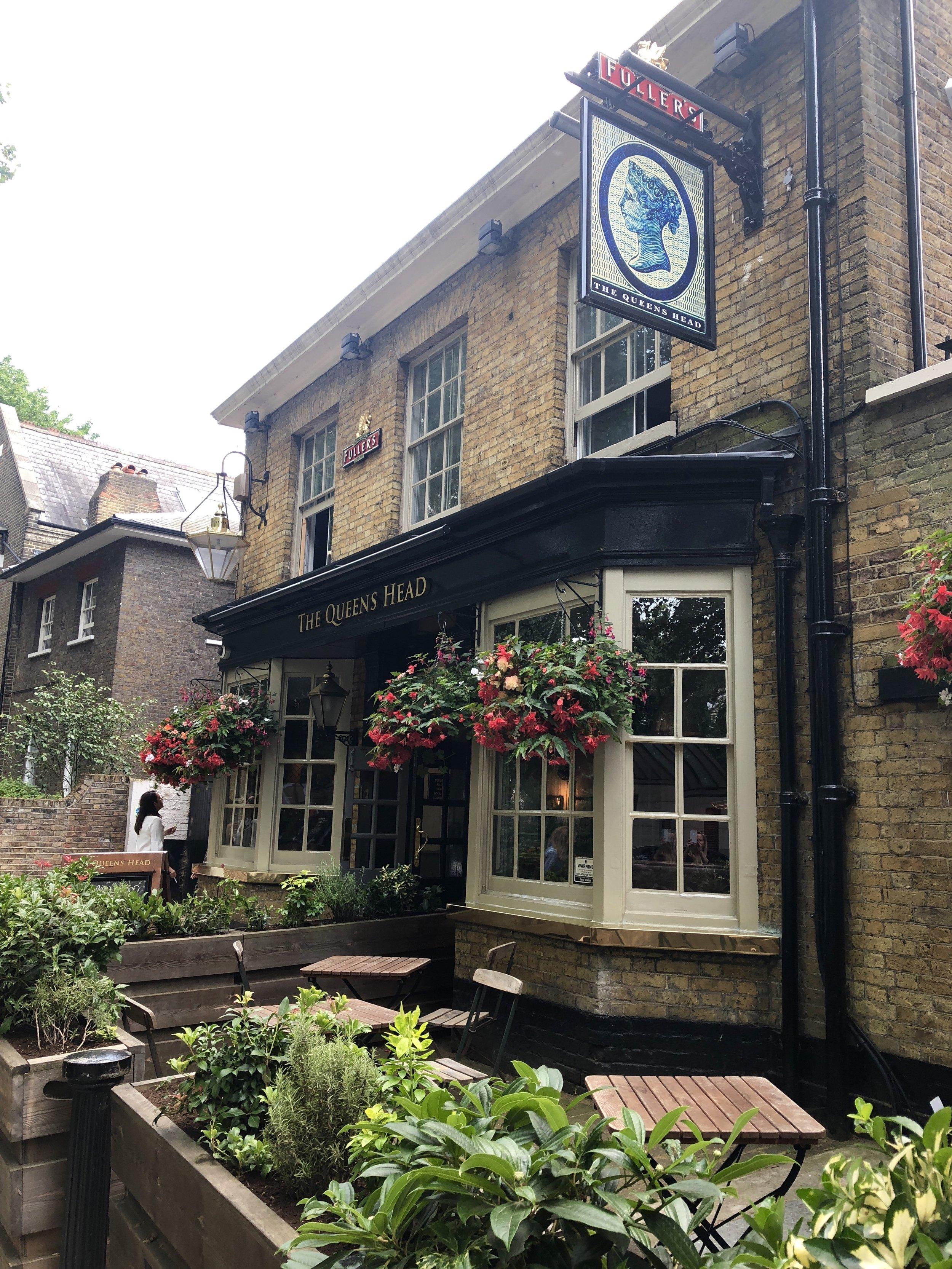 The Queens Head, Brook Green London: Best London Pub