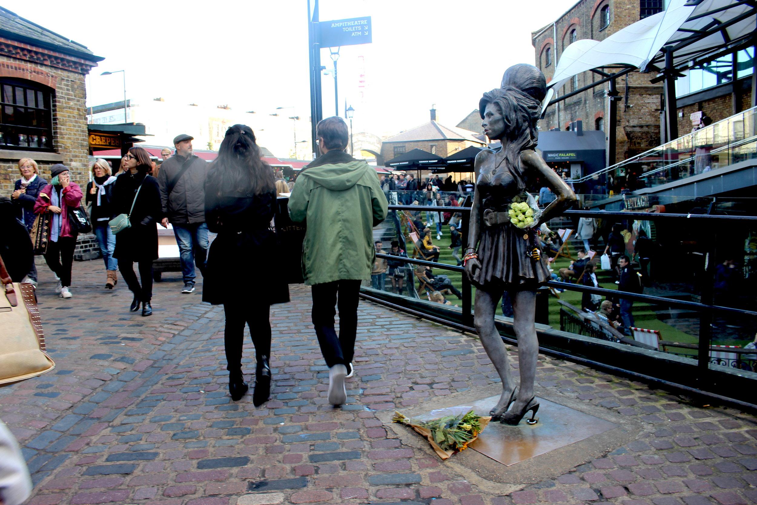 Amy Winehouse at Camden Market London, via BoastHouse
