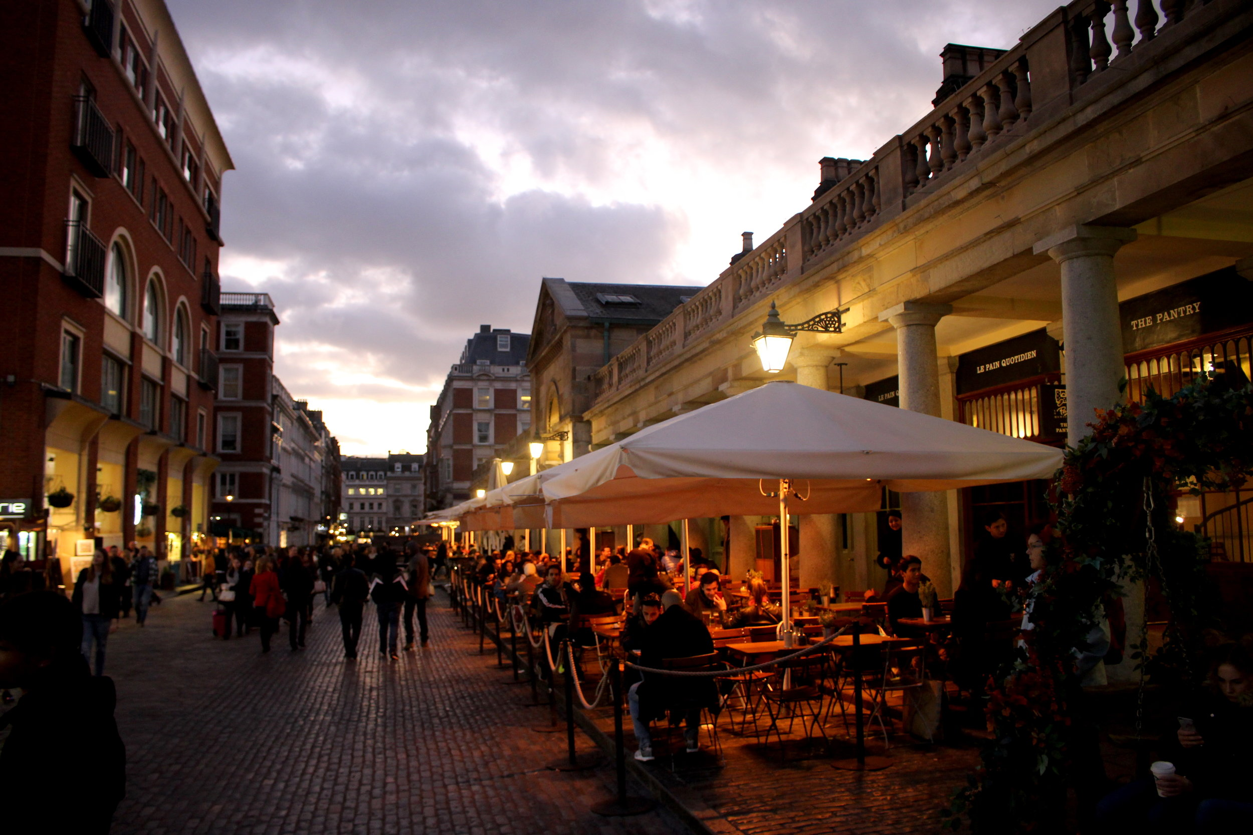 Best places to go in London, Covent Garden