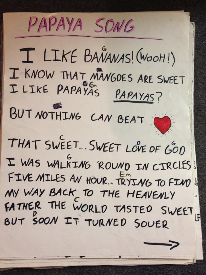 Papaya Song (page 1)