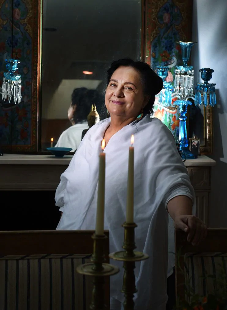 NAJMIEH BATMANGLIJ IS THE GRANDE DAME OF IRANIAN COOKING - (WASHINGTON POST)