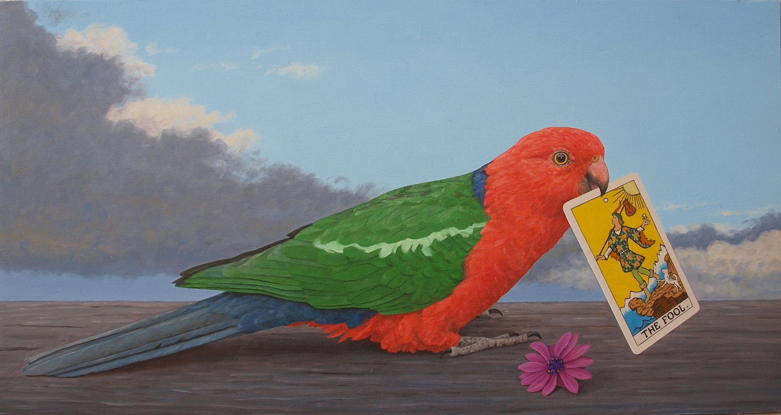 King Parrot and the Fool