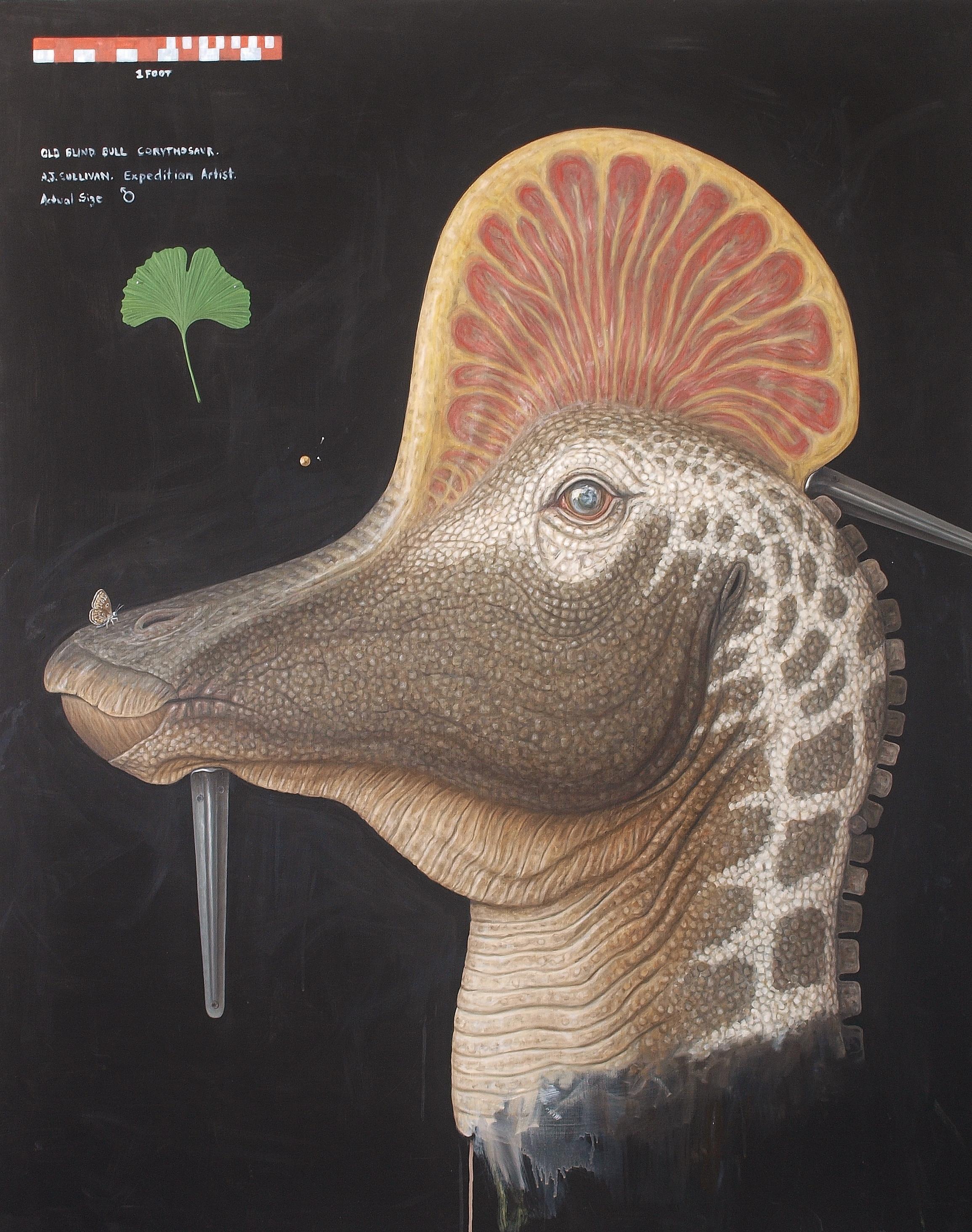 Bull Corthyosaur