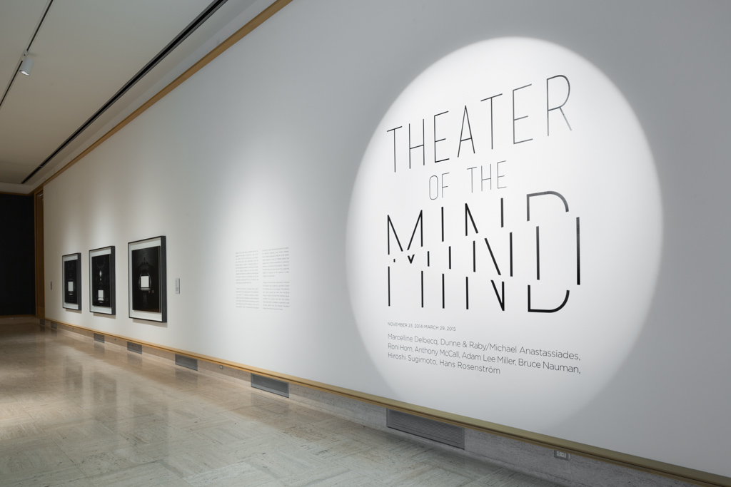 THEATER OF THE MIND   Cranbrook Art Museum November 2014 - March 2015 Photo: R.H. Hensleigh