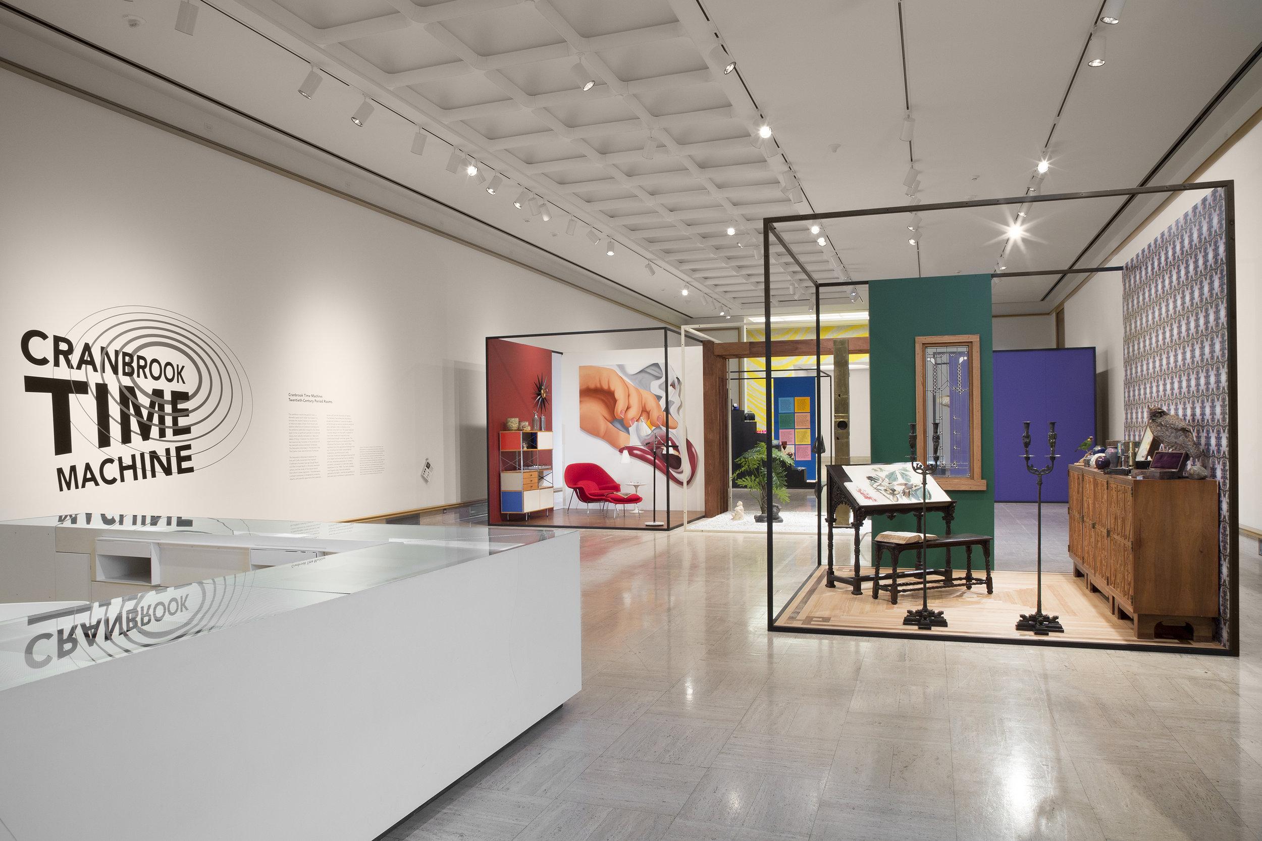 CRANBROOK TIME MACHINE: 20TH CENTURY PERIOD ROOMS    Cranbrook Art Museum   November 2016 - March 2017   Photo: PD Rearick
