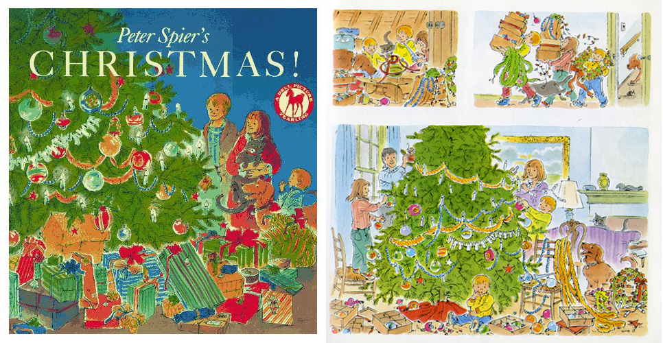 Although  Christmas!  is a wordless book, the wonderful illustrations make this a book for all ages to enjoy.