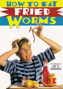 Billy prefers his worms pan-fried with a cornmeal coating and mustard and ketchup.