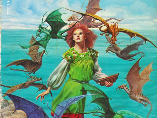 Cover art for the 1970s edition of  Dragonsong .