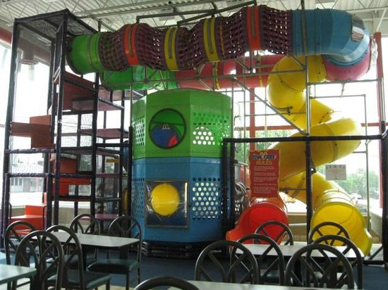 This PlayPlace looks like a great space to burn off some energy indoors.